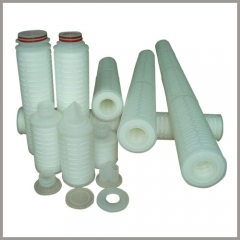 Pleated filter cartridge machines-production line