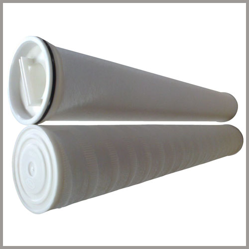 high flow pleated filter