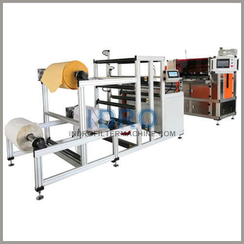 automatic filter paper pleating machine-W-M pleats maker