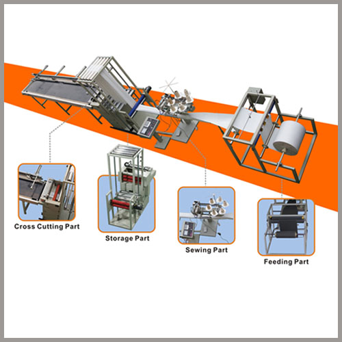 Dust collector filter bag making machines production line